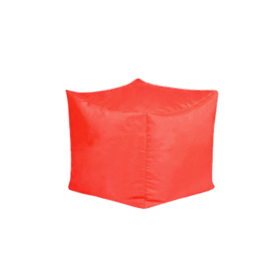 Bean Bag Cube - Red