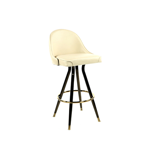 Belle Bar Stool (Beige)