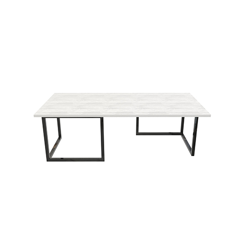 Zelda Black Rectangle Coffee Table