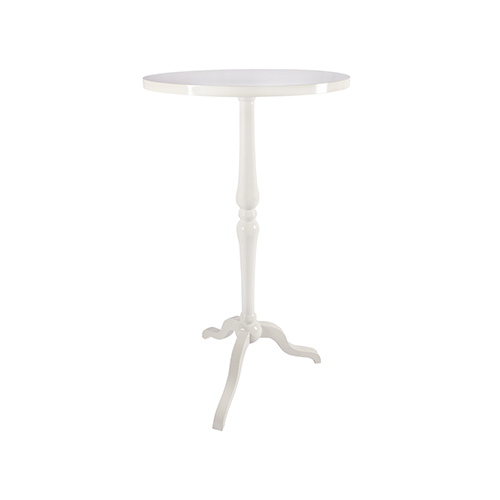 Retro Cocktail Table - White