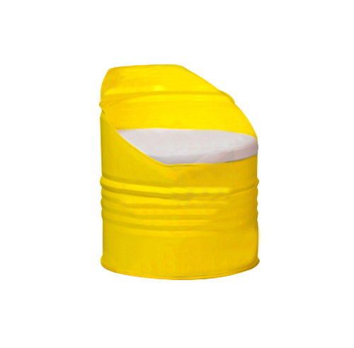 Drum Chair - Yellow