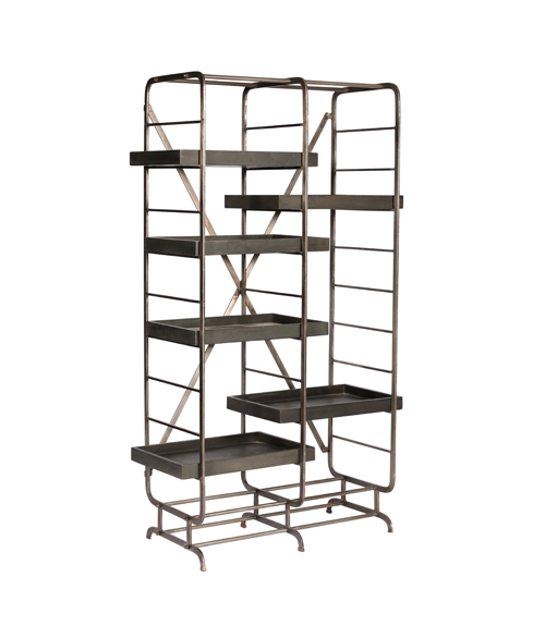 Galvanized Shelves