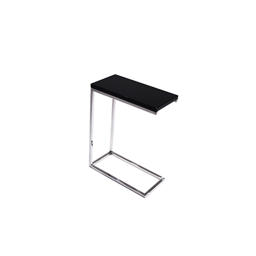 Maxim End Table - Black Top