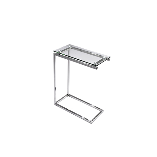 Maxim End Table - Glass Top