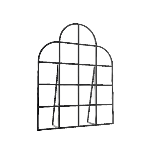 Free Standing Decor Wall - Small