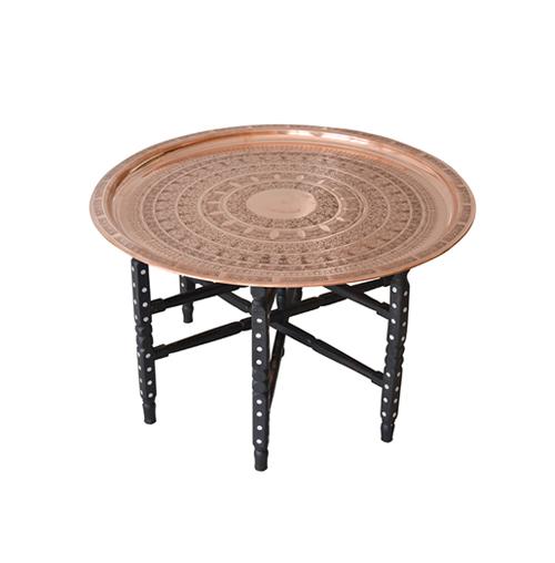 Moroccan Copper Coffee Table