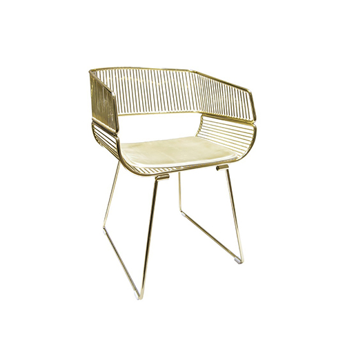 Munich Chair - Gold