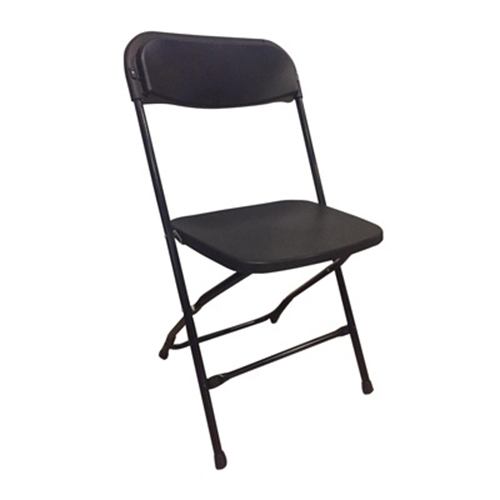 Platina Folding Chair - Black