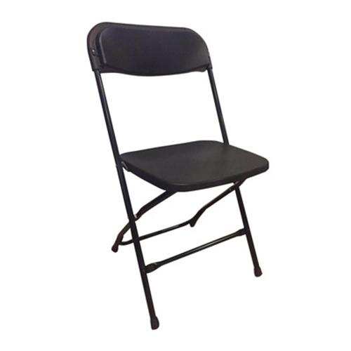Platina Folding Chair - Black