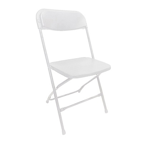 Platina Folding Chair - White