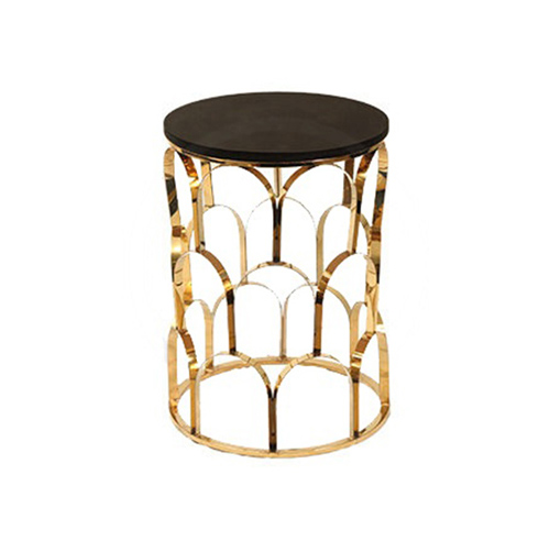 Sparkle Side Coffee Table (Black Top)