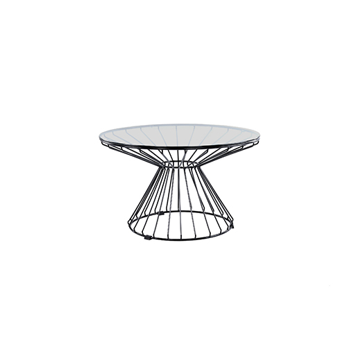 Wire Coffee Table (Black)