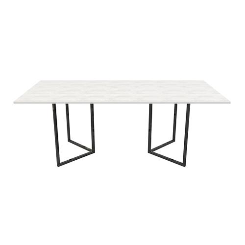 Zelda Black Rectangle Dining Table