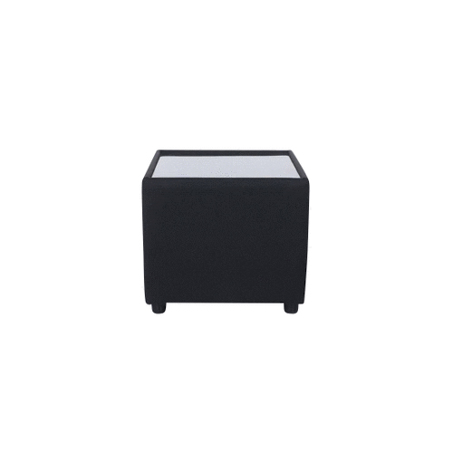 Alpha Square Small Coffee Table - Black