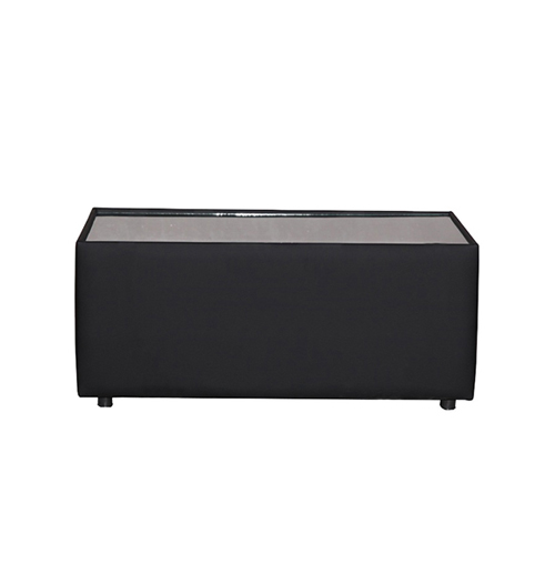 Alpha Rectangular Coffee Table - Black