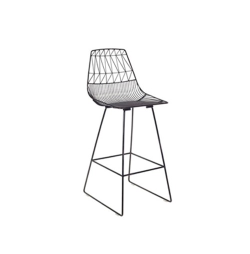 Arrow Bar Stool (Black)