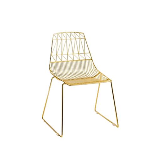 Arrow Chair (Gold)