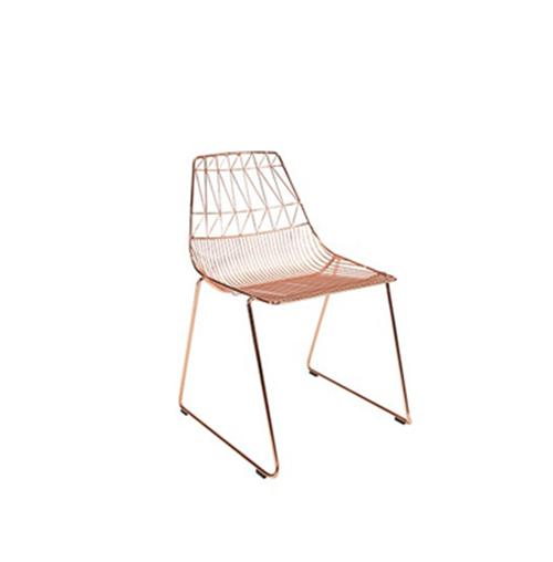 Arrow Chair (Rose Gold)