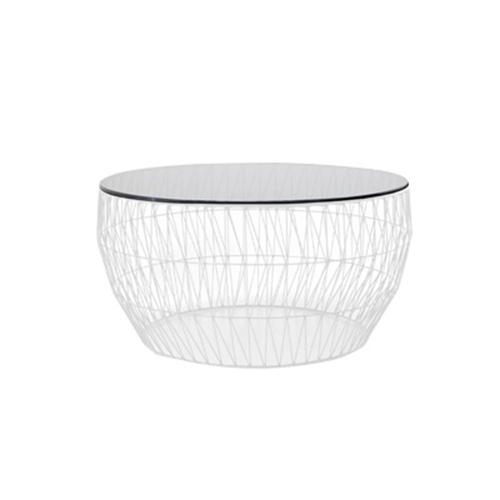 Arrow Coffee Table - White