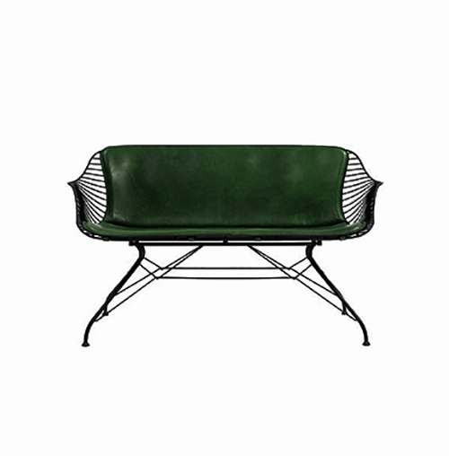 Madison Sofa Two Seater - Green