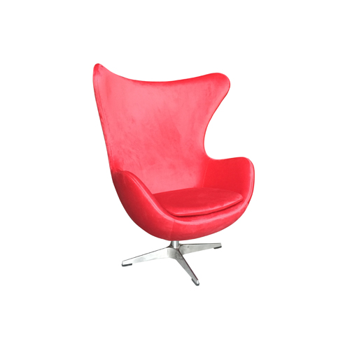 Egg Chair - Red