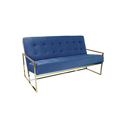 Elle Two Seater sofa - Blue