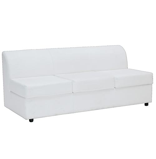 Marina Three Seater Sofa - White