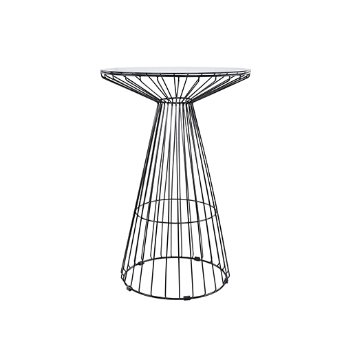 Black Wire Cocktail Table