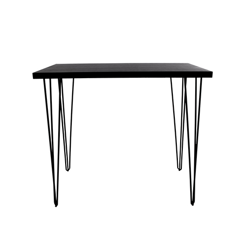 Blackwash Cocktail Table with Black Hairpin Leg 183(L)