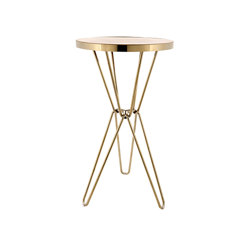 Miyagi Cocktail Table (Gold)