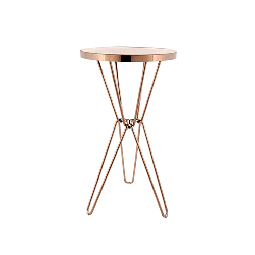 Miyagi Cocktail Table (Rose Gold)