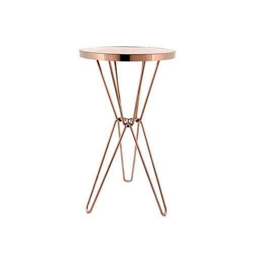 Miyagi Cocktail Table (Rose Gold)