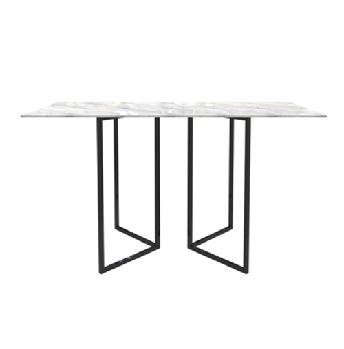 Zelda Black Rectangle Cocktail Table