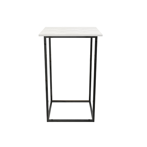 Zelda Black Square Cocktail Table
