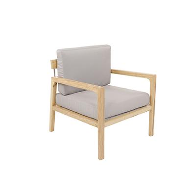 Scandinavian Lounge Chair - Grey