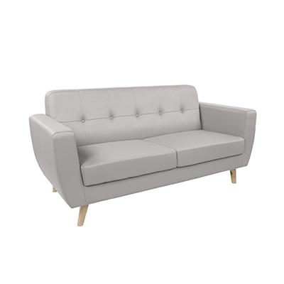 Scandinavian Two seater Sofa Grey
