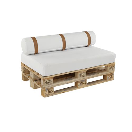 Pallet Sofa - White
