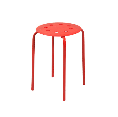 Stool (Red)