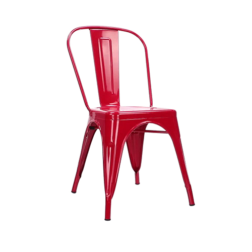 Tolix Chair - Red