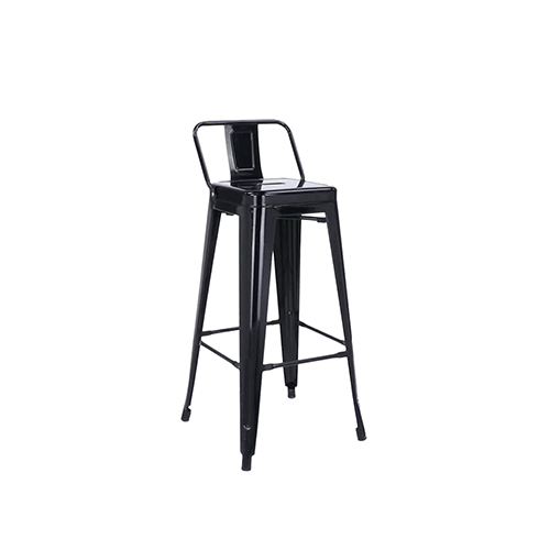 Tolix Bar Stool (Black)