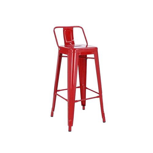 Tolix Bar Stool (Red)
