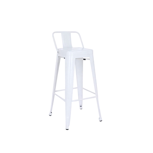 Tolix Bar Stool (White)