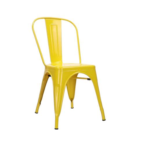 Tolix Chair - Yellow