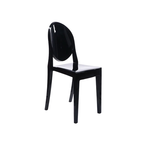Victoria Ghost Chair - Black