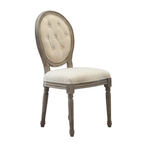 Vintage Louis Chair (With Buttons)